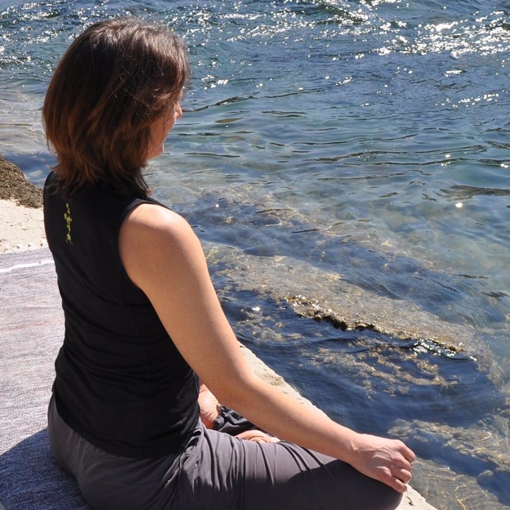 Yoga mit Andrea Keller |Die Gedanken zur Ruhe bringen